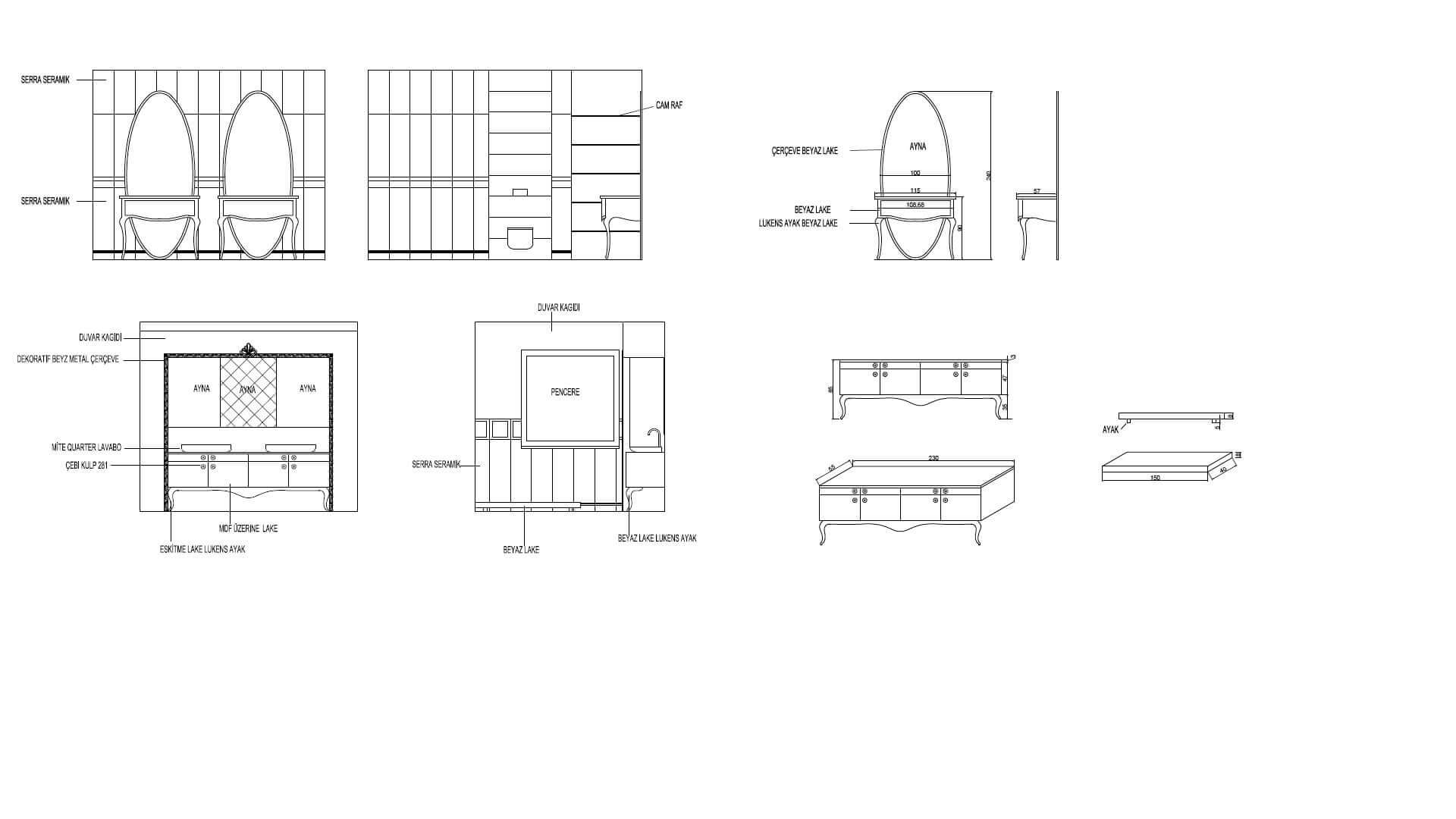 Ev iç tasarım 2911 C. Balta Konutu Konutlar