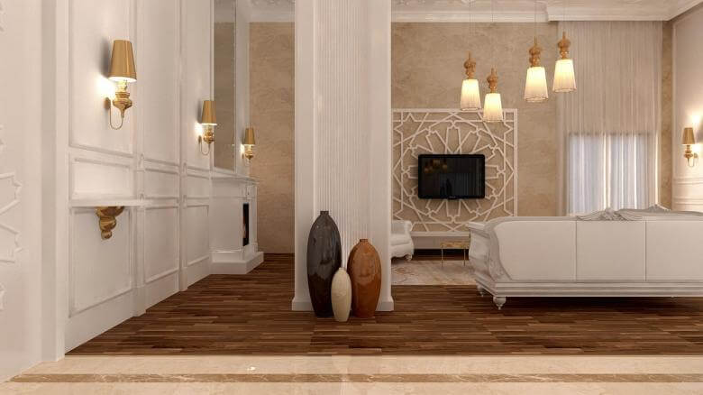 villa dekorasyonu 3017 Oran Rezidans Konutlar