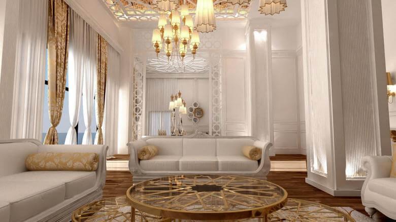 villa dekorasyonu 3020 Oran Rezidans Konutlar