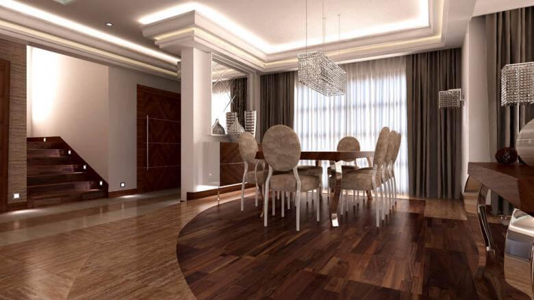 villa dekorasyonu 3093 SA Konutu Konutlar