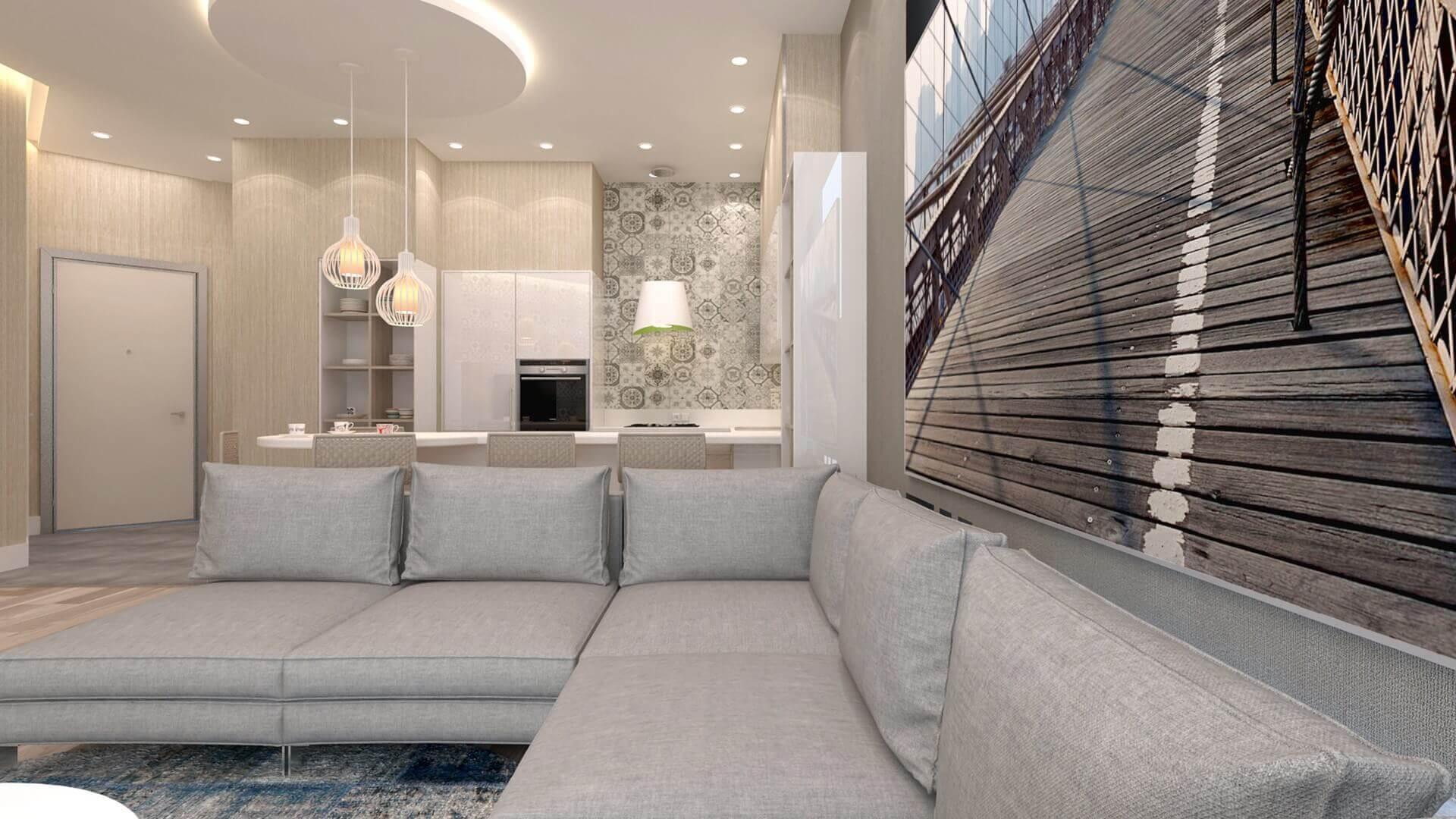 villa dekorasyonu 3195 D. Aslan Dairesi Konutlar