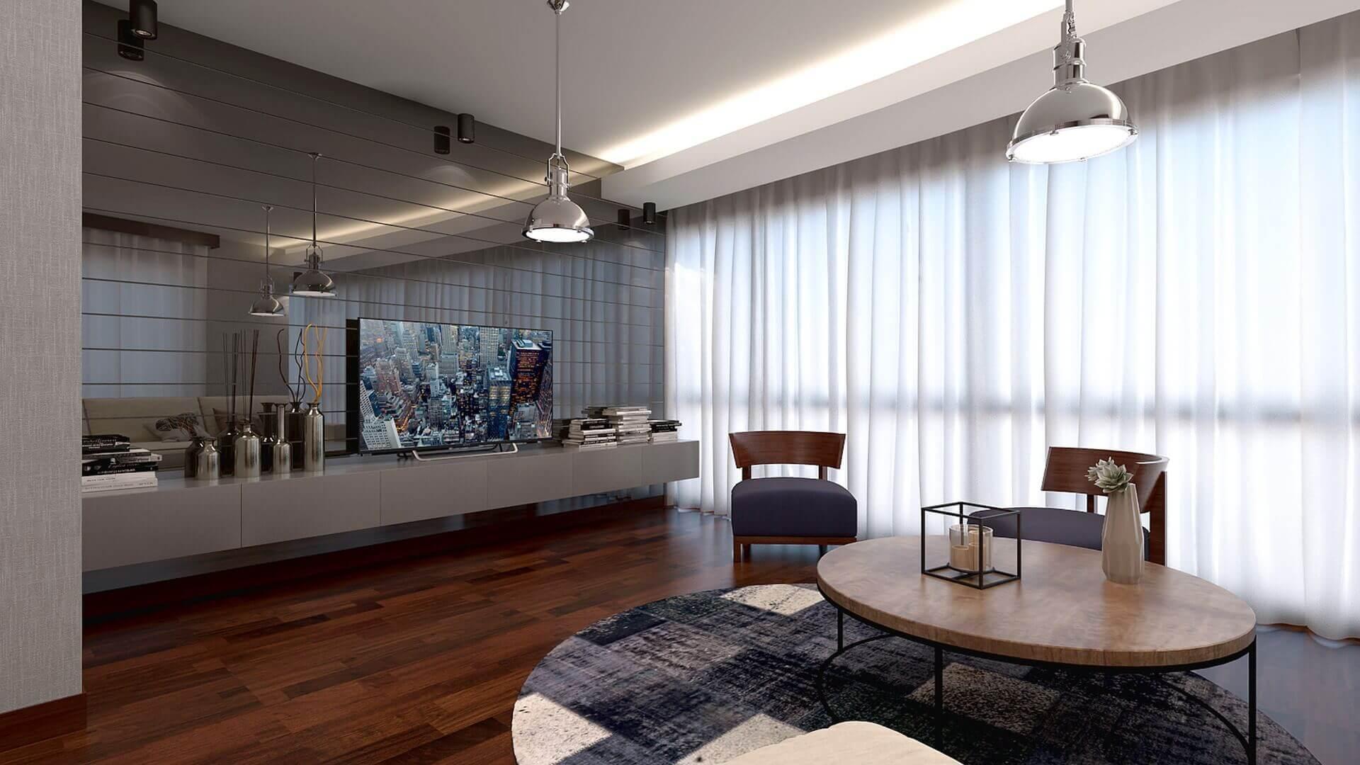 Ev dekorasyonu mimar 3261 H. Aslan Dairesi Konutlar