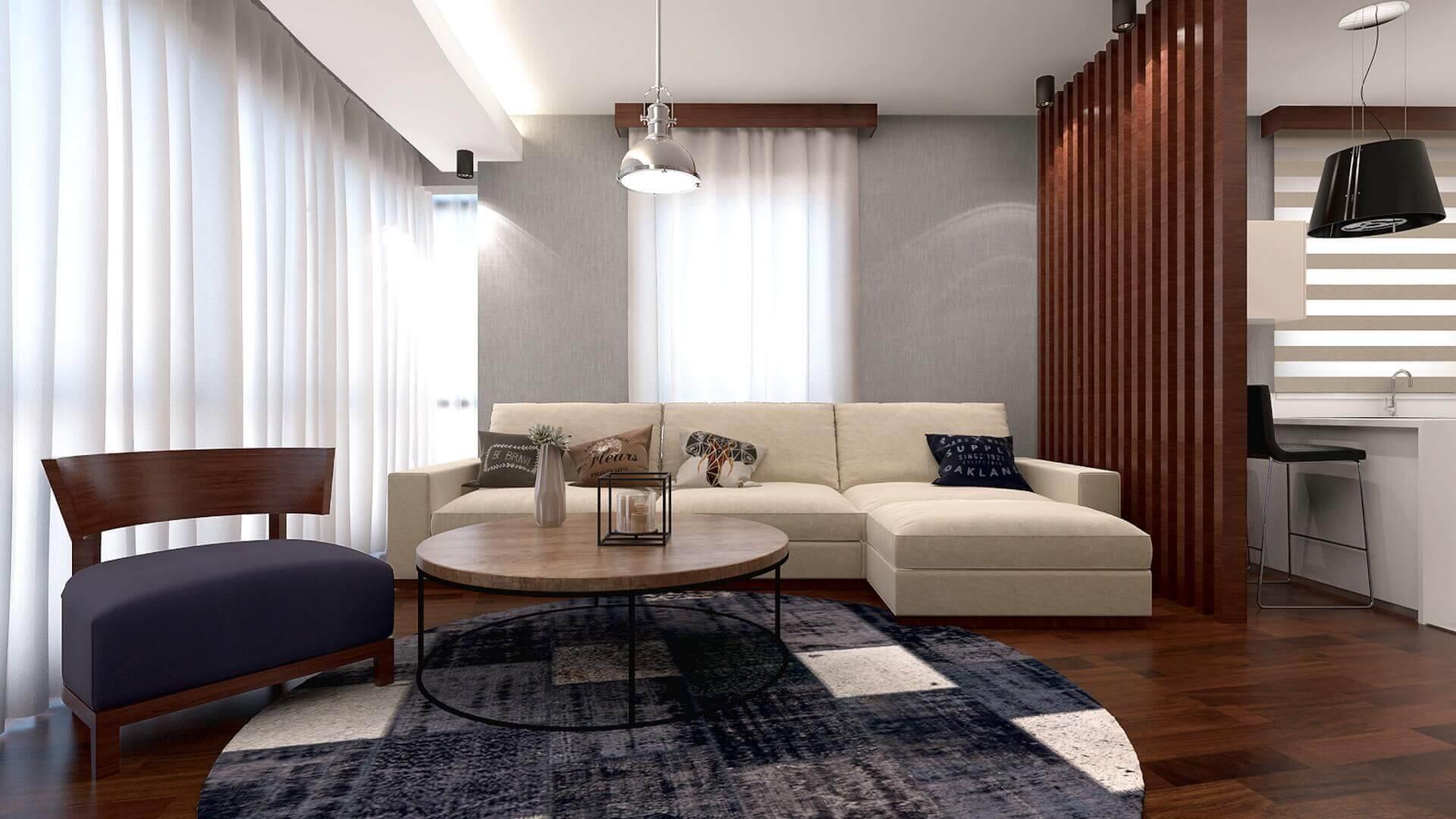 villa dekorasyonu 3264 H. Aslan Dairesi Konutlar
