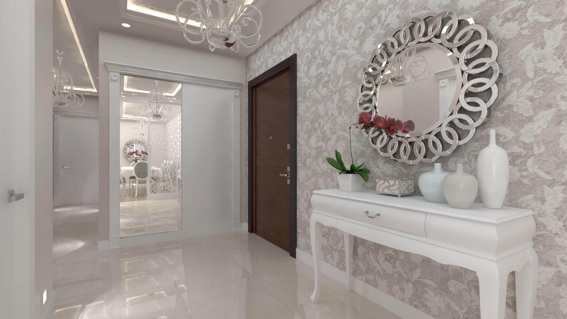 villa dekorasyonu 3309 D. Ünal Dairesi Konutlar