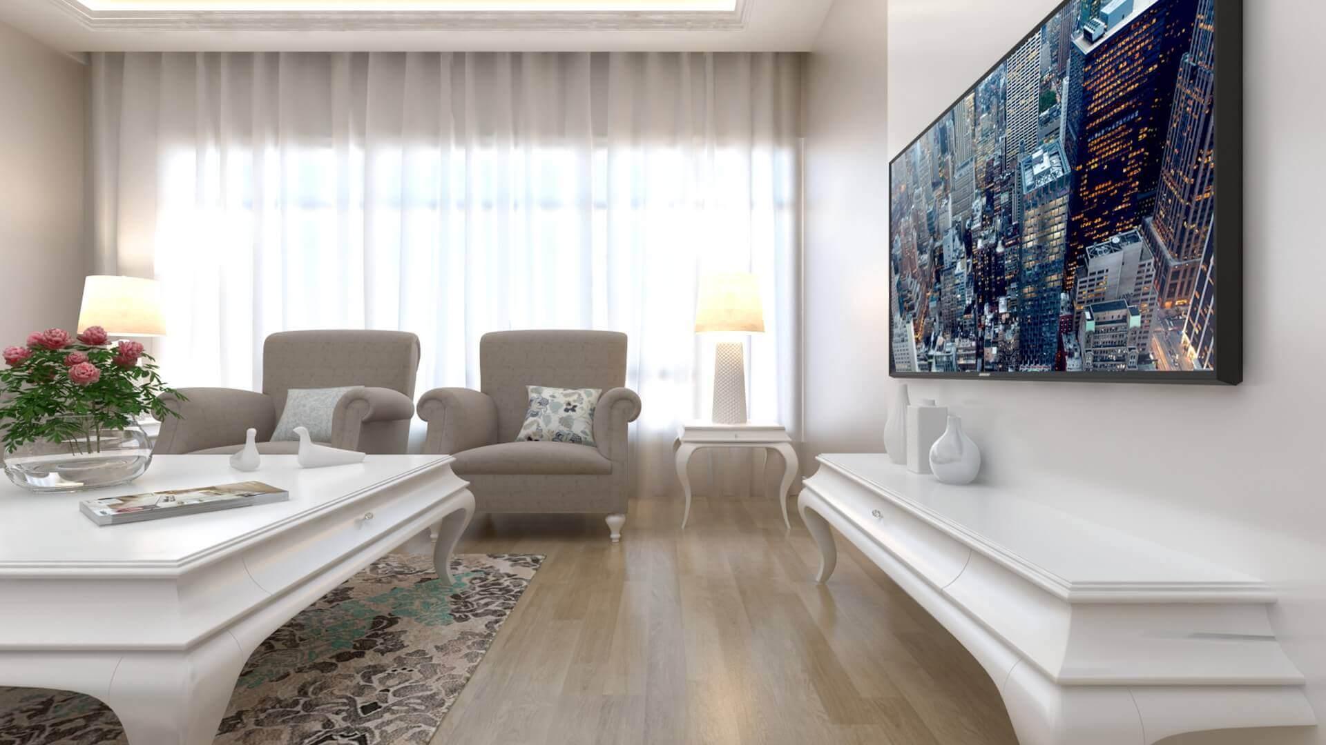 Natamam villa dizayn 3311 D. Ünal Dairesi Konutlar