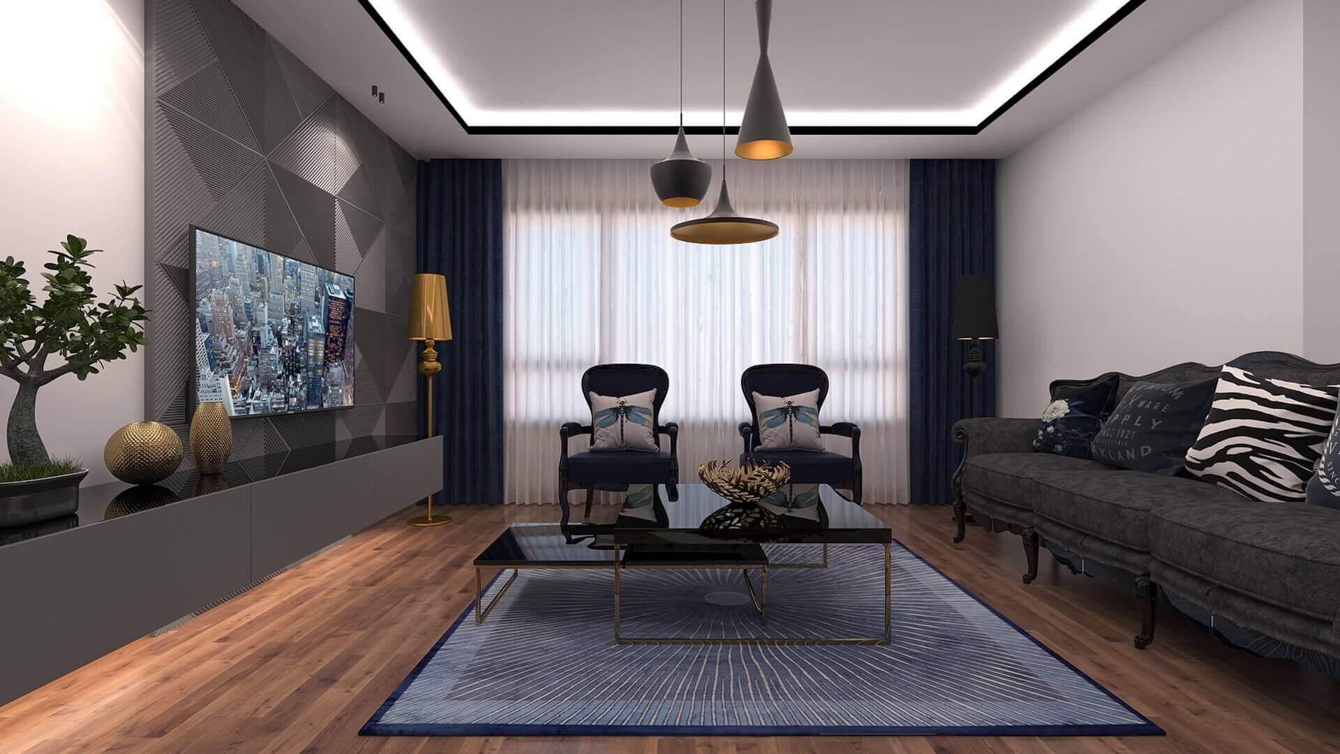 villa dekorasyonu 3339 A. Erbaş Dairesi Konutlar