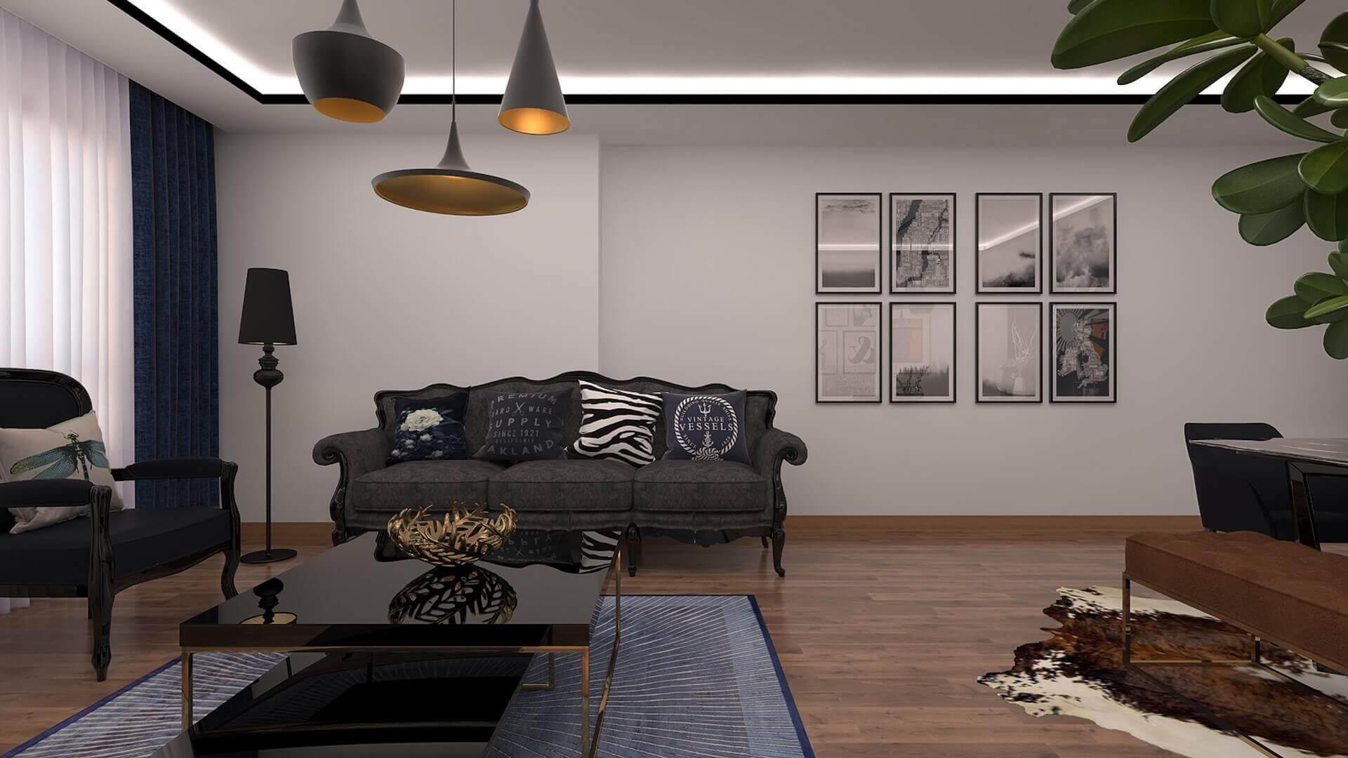 Ev dekorasyonu mimar 3341 A. Erbaş Dairesi Konutlar