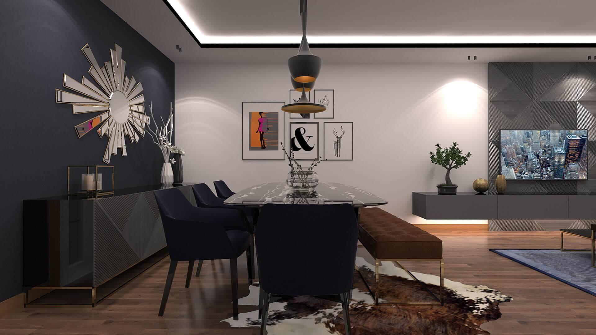 villa dekorasyonu 3342 A. Erbaş Dairesi Konutlar