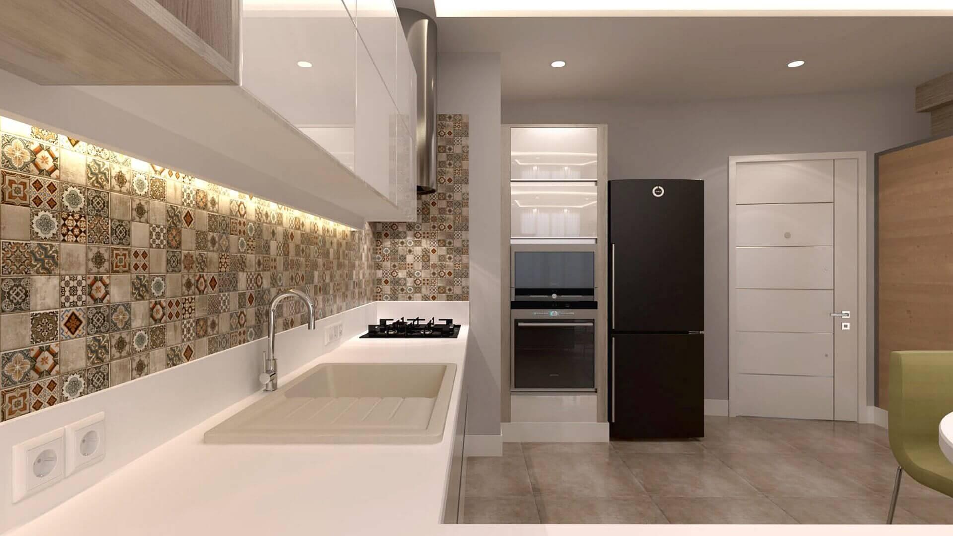 Lüks villa dizayn 3351 F. Külahçı Dairesi Konutlar