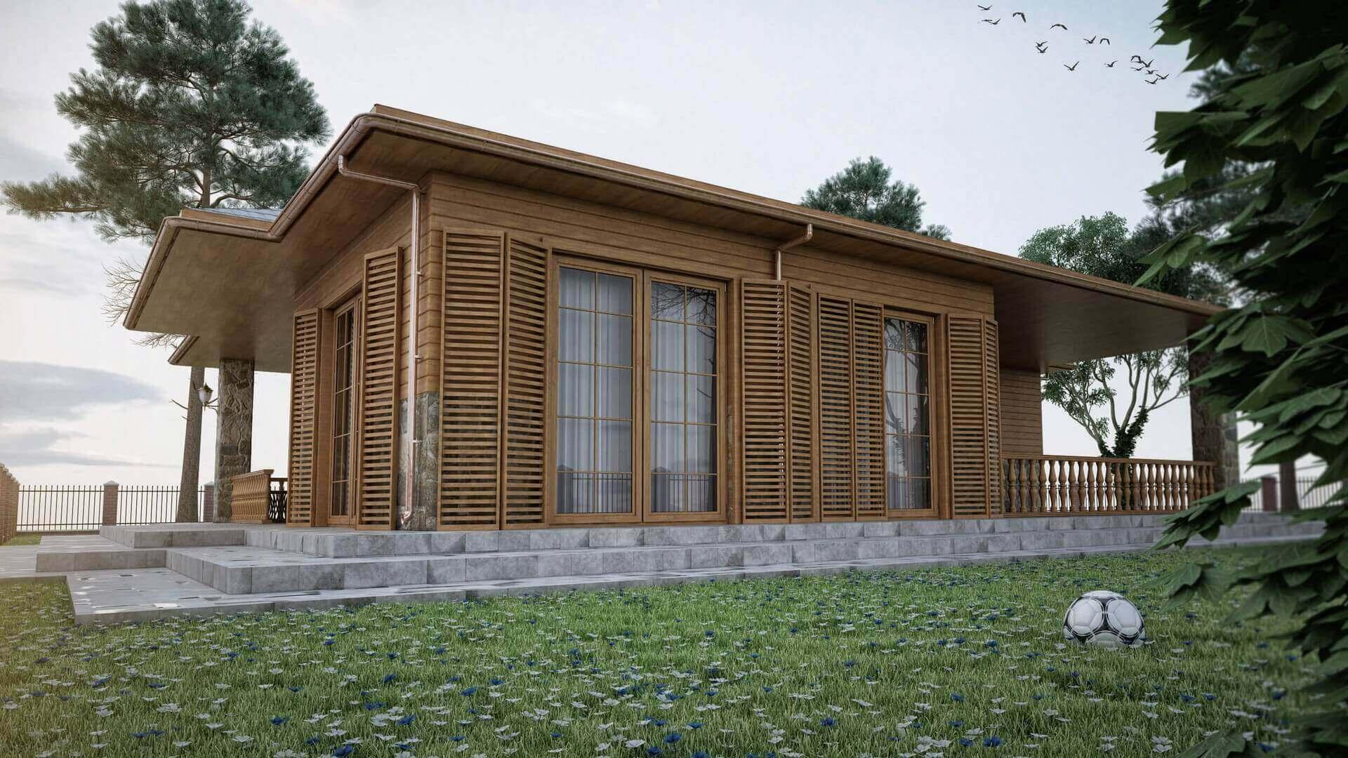 Villa iç tasarım 3401 Ekolojik Muratlı Köy Konutlar