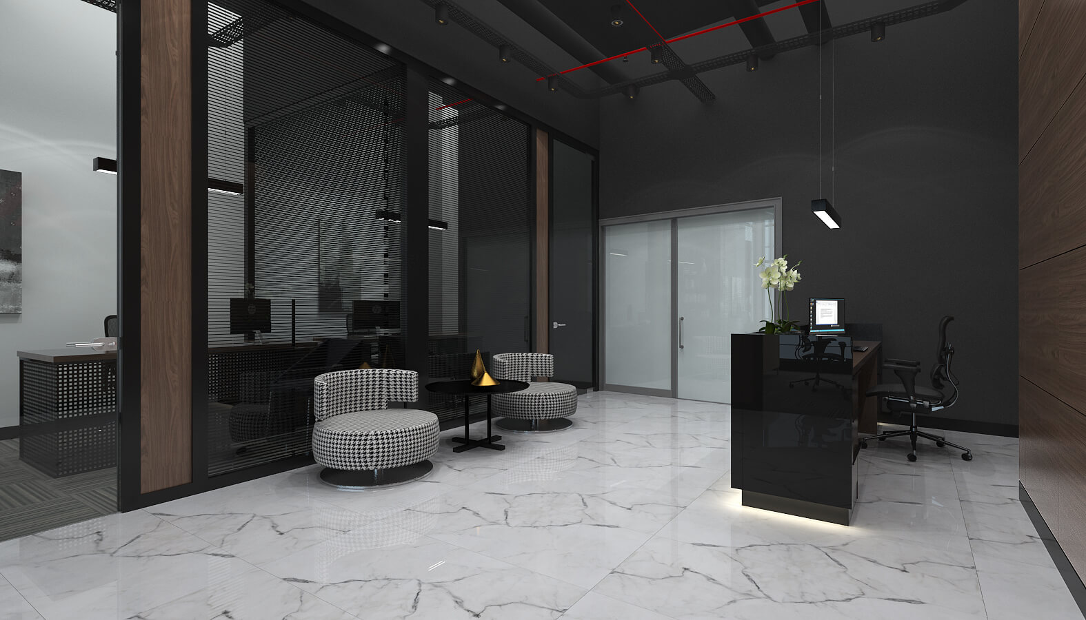 ofis içmimari 3504 Ascan Maden Çimento Ofisler