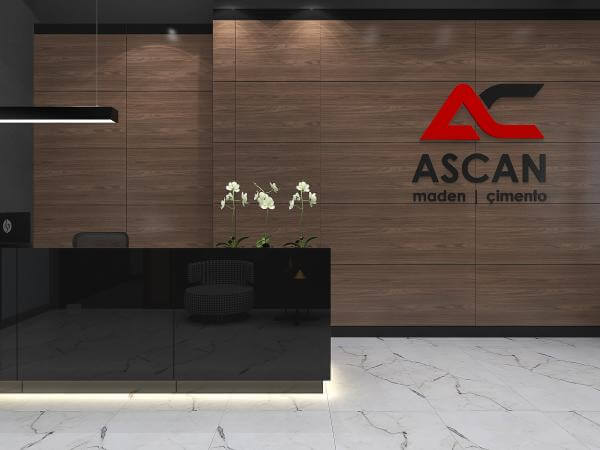 ofis dekorasyonu 3505 Ascan Maden Çimento