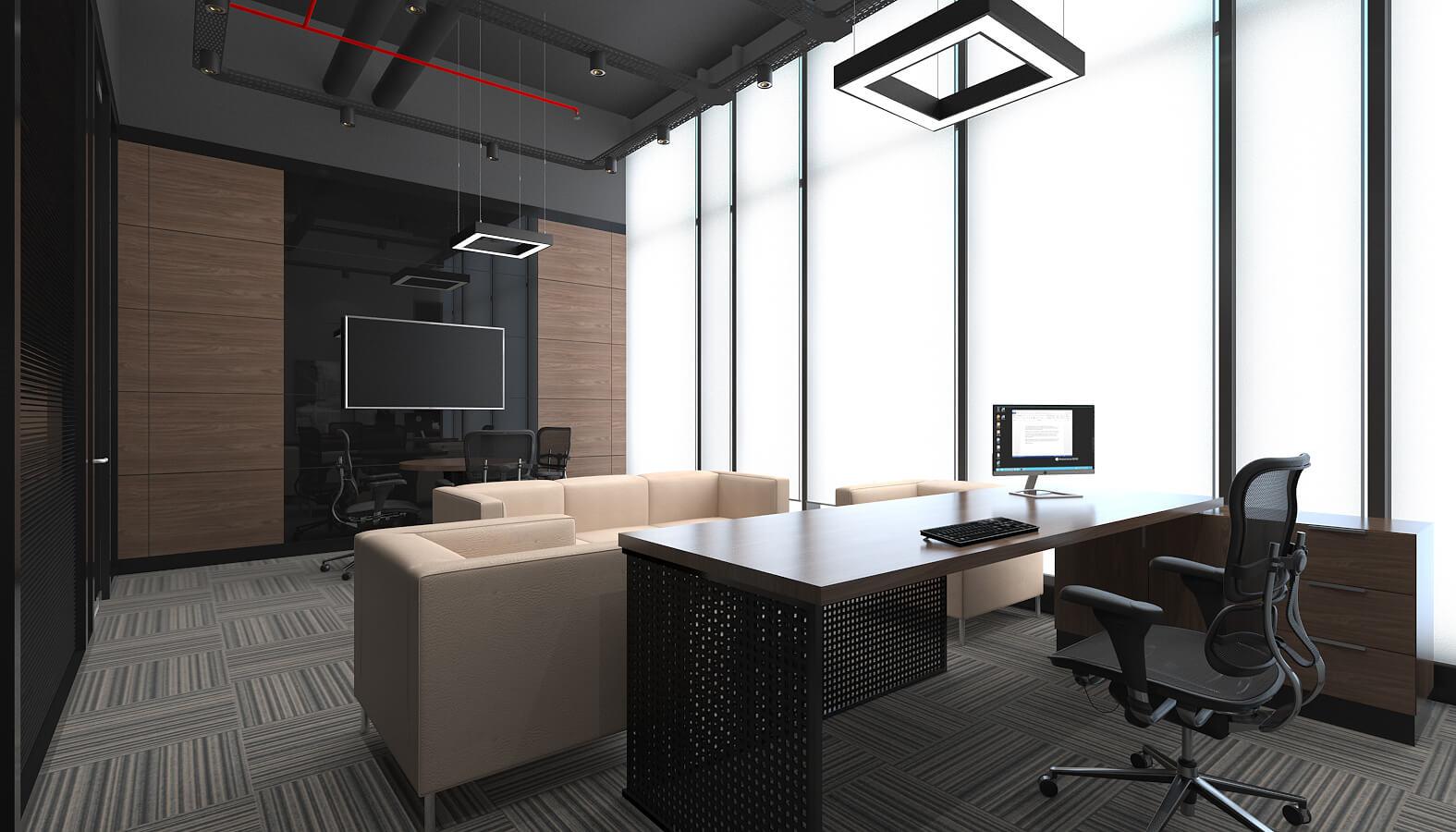 ofis içmimari 3507 Ascan Maden Çimento Ofisler