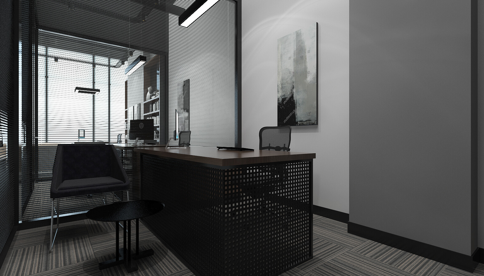 ofis içmimari 3510 Ascan Maden Çimento Ofisler