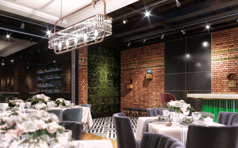 Restoran tasarımı 3571 Doğruer Restaurant Restoranlar
