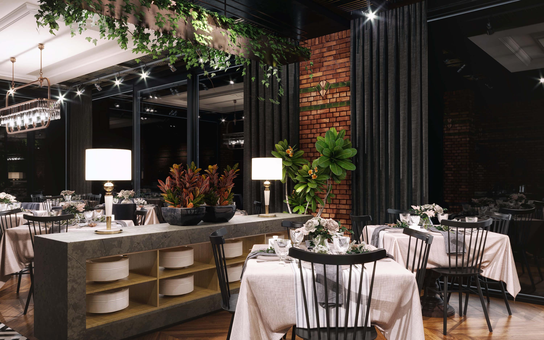 restorant iç tasarım 3574 Doğruer Restaurant Restoranlar