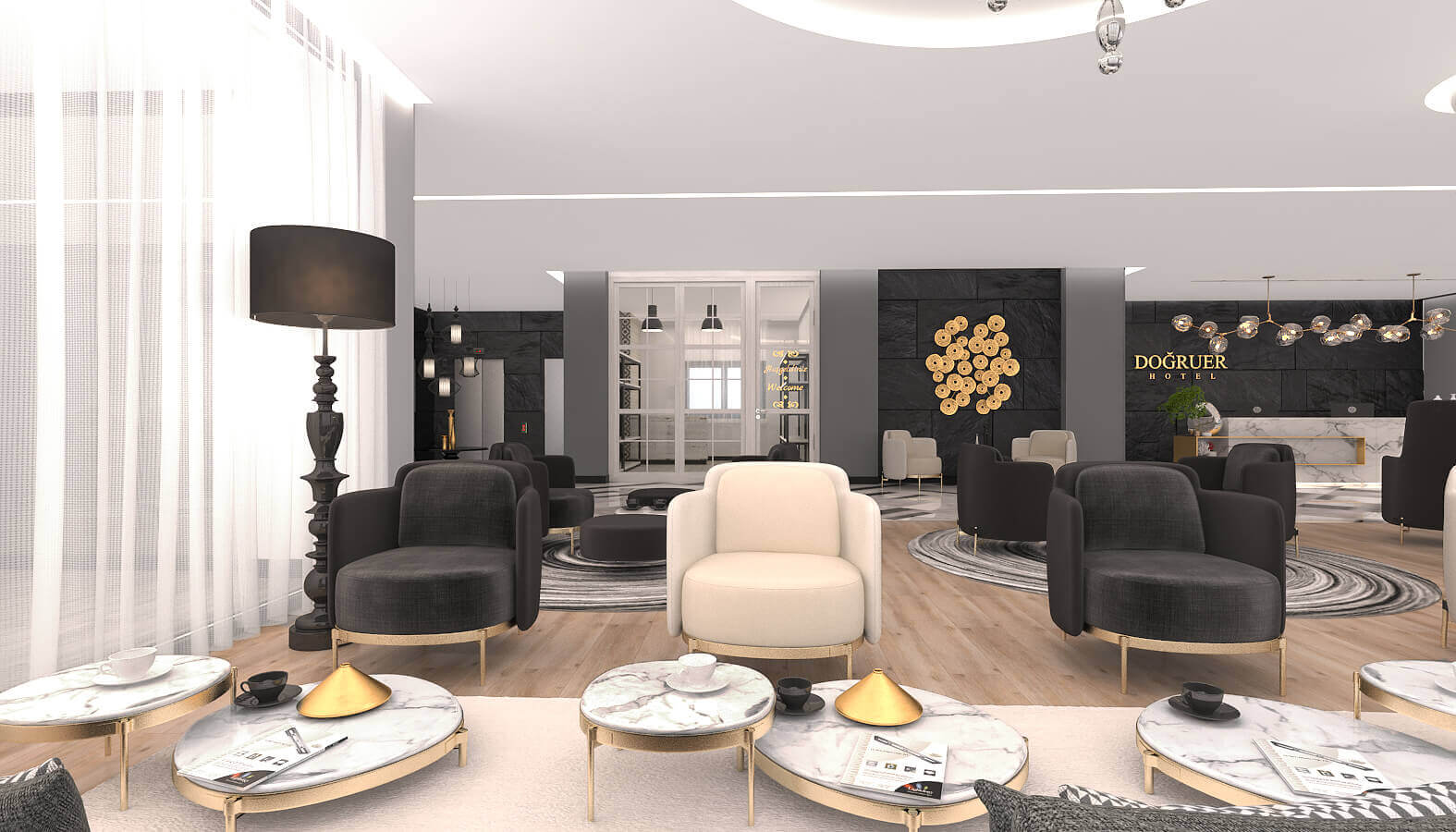otel odası tasarımı 3579 Doğruer hotel Oteller