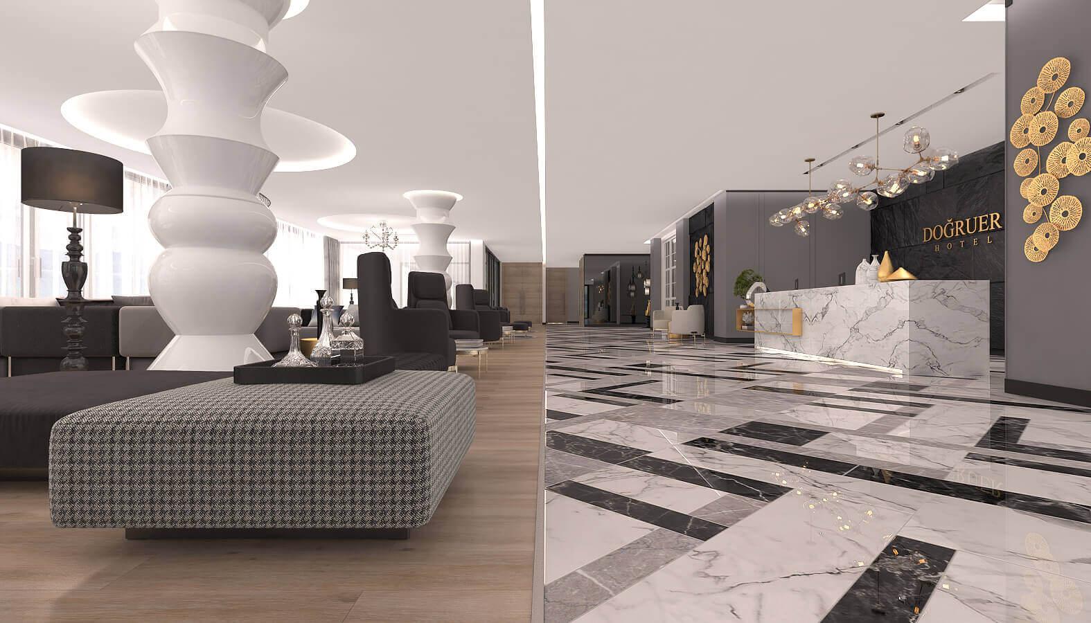 otel odası tasarımı 3582 Doğruer hotel Oteller