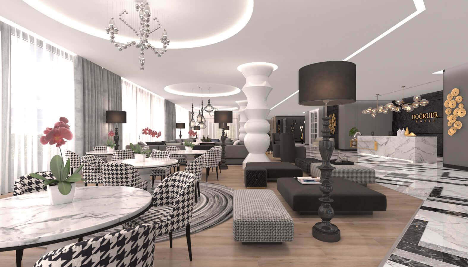 otel odası tasarımı 3585 Doğruer hotel Oteller