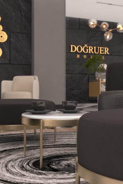 otel tasarımı 3590 Doğruer hotel