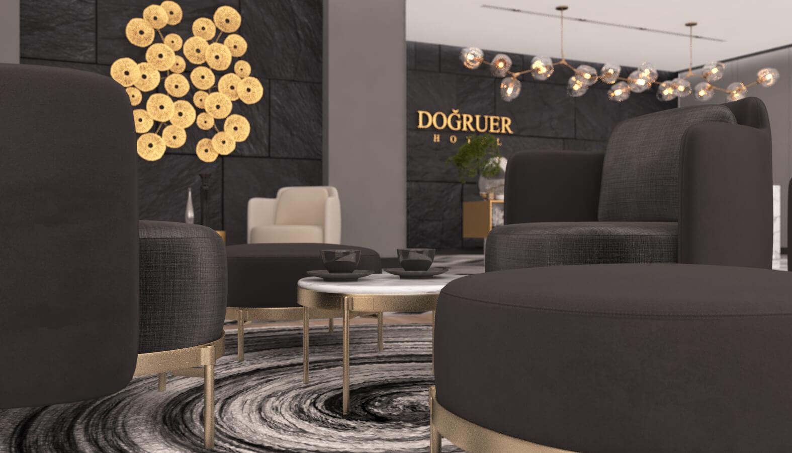 Otel Mimari ve İç Mimari Tasarımları Doğruer hotel