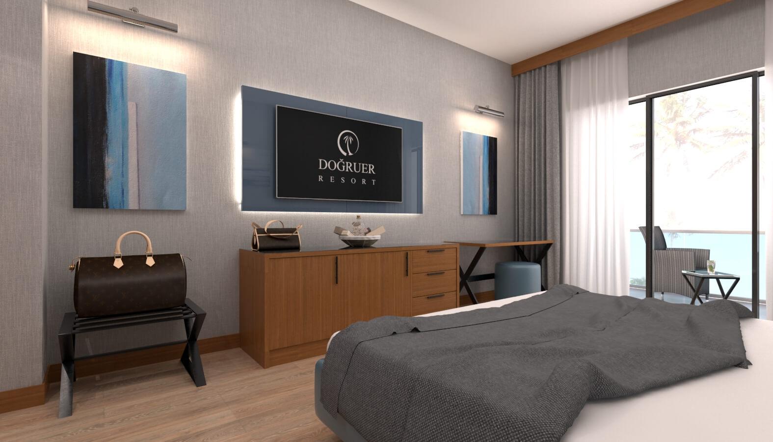 otel odası tasarımı 3606 Doğruer hotel Oteller