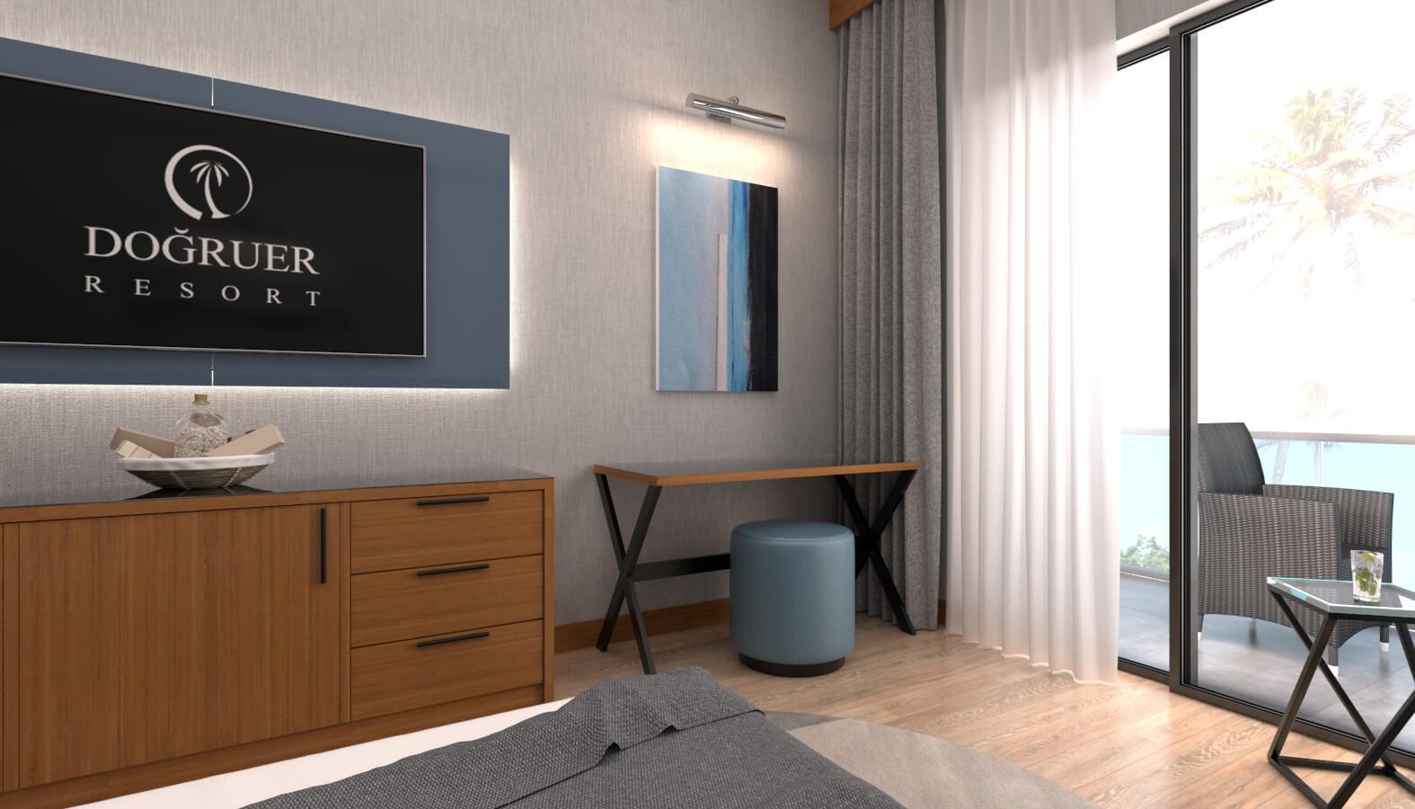 tip oda tasarımı 3608 Doğruer hotel Oteller