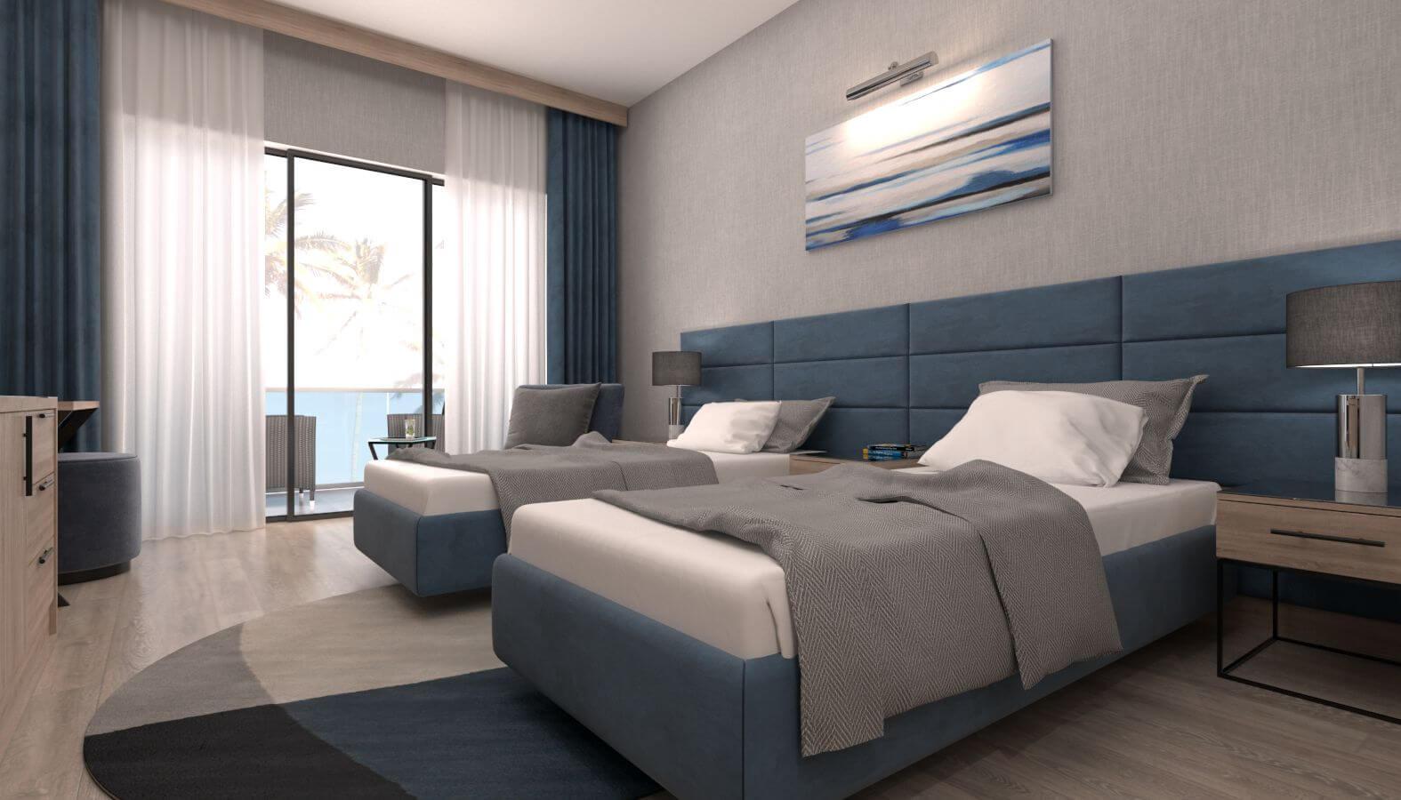 otel odası tasarımı 3609 Doğruer hotel Oteller