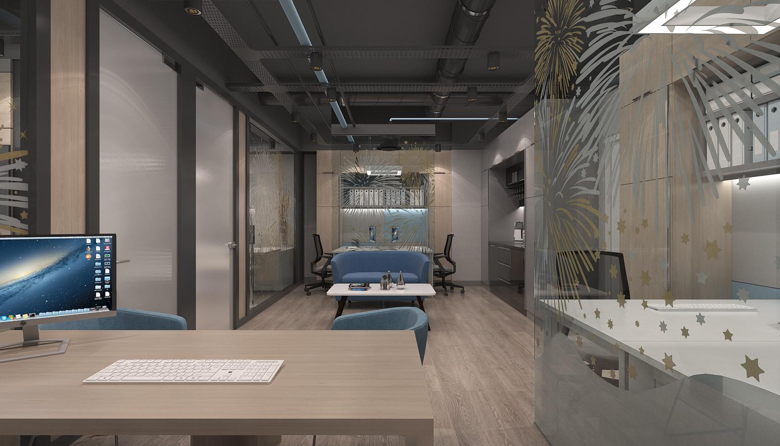 Ofis İç Mimari Dekorasyonu  Artı Entegre