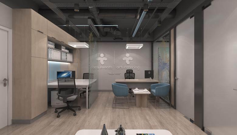 ofis içmimari 3632 Artı Entegre Ofisler