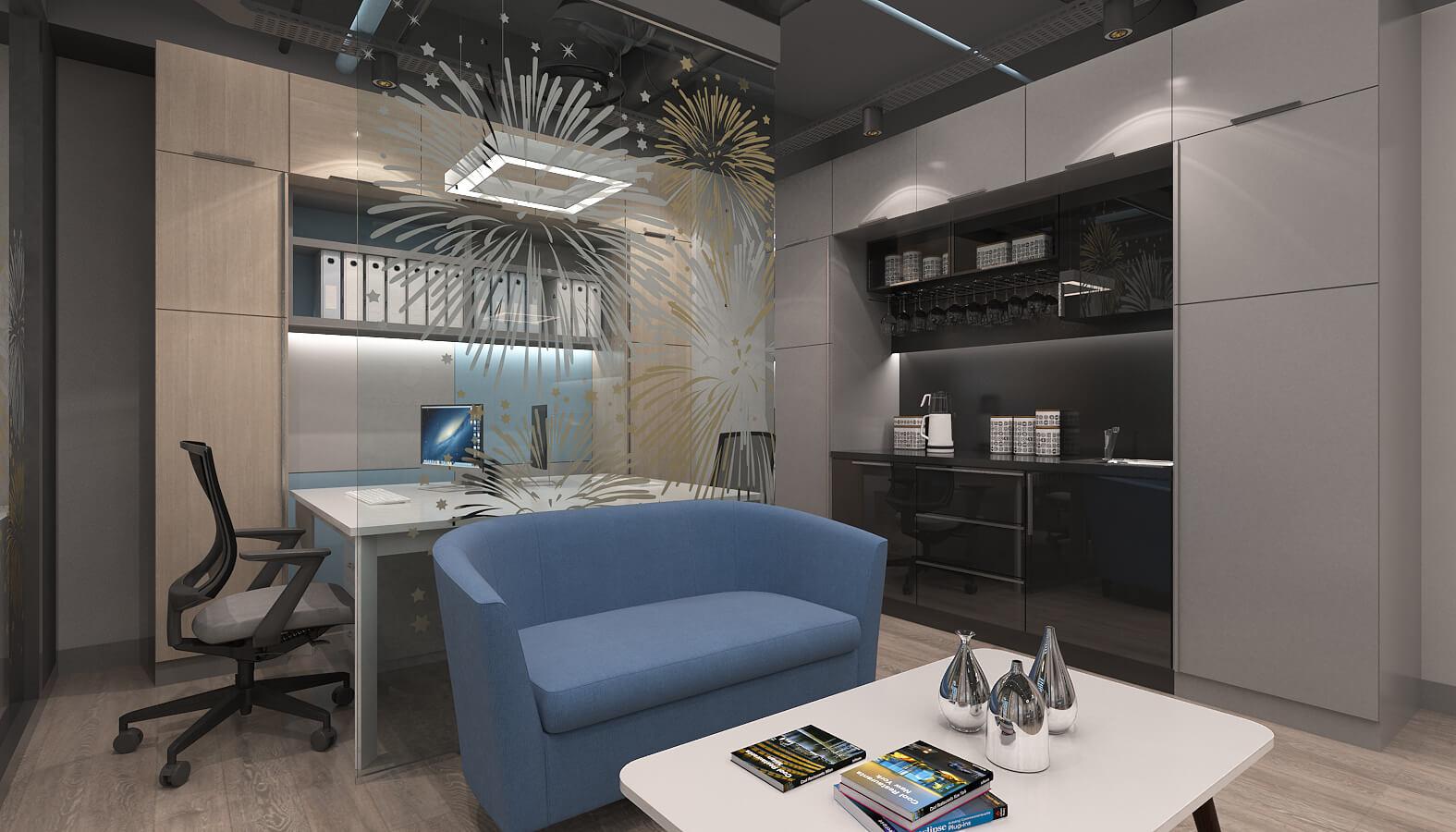 ofis içmimari 3633 Artı Entegre Ofisler