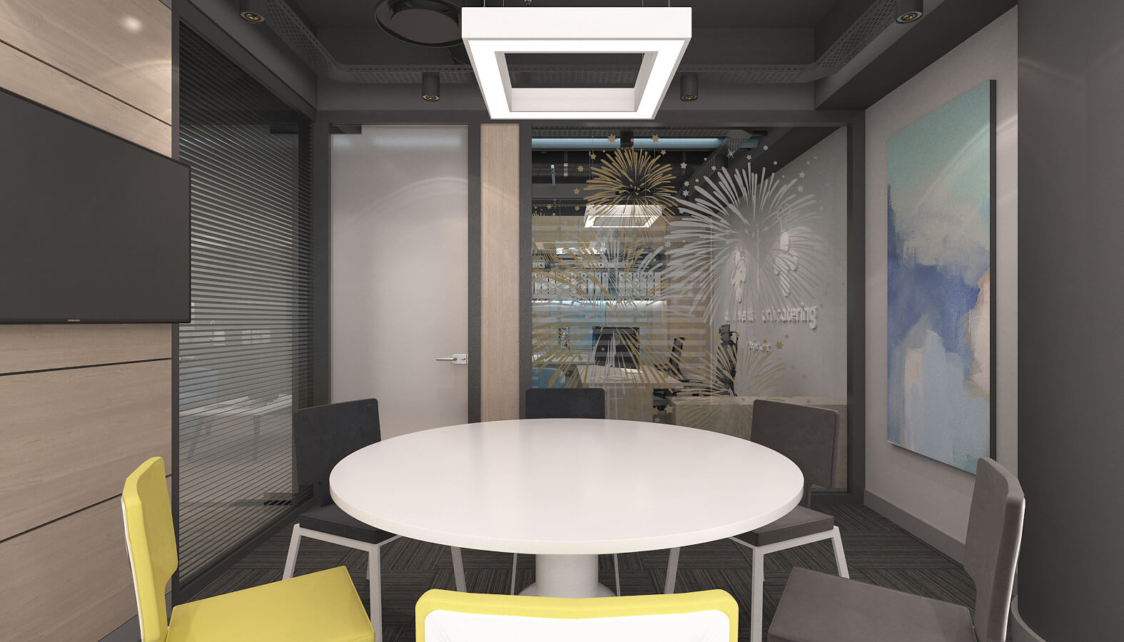 ofis dekorasyonu 3635 Artı Entegre Ofisler