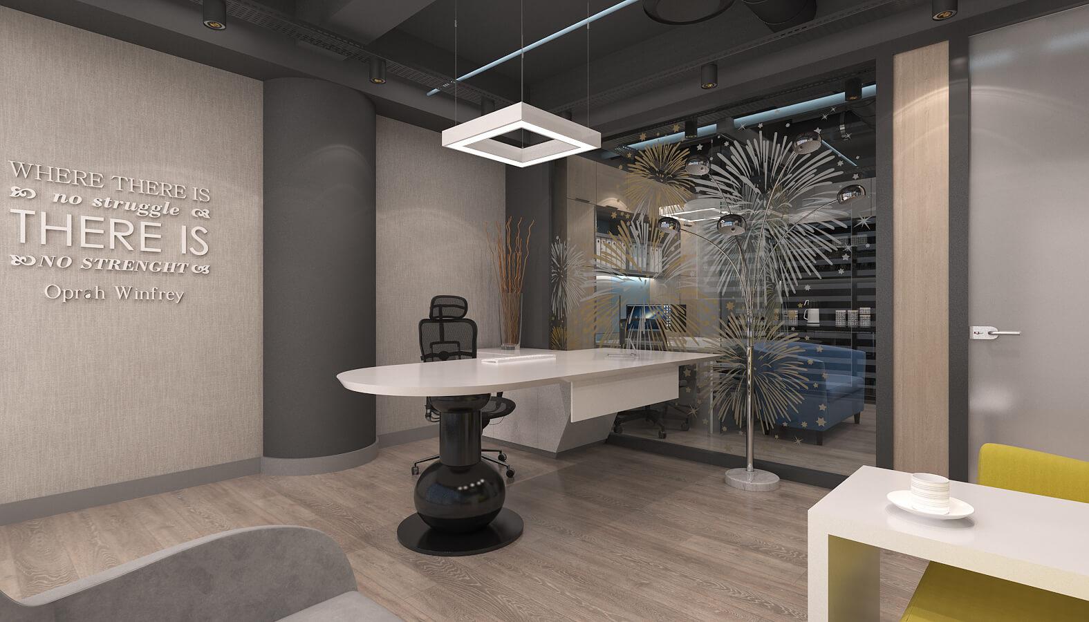 ofis içmimari 3636 Artı Entegre Ofisler