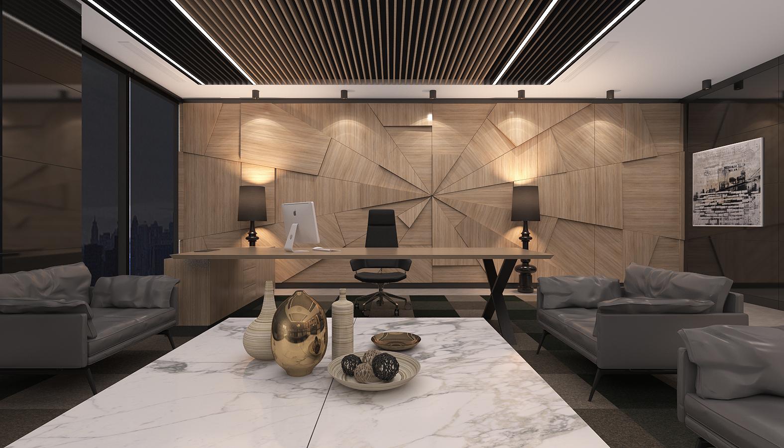 Ofis İç Mimari Dekorasyonu  Norm