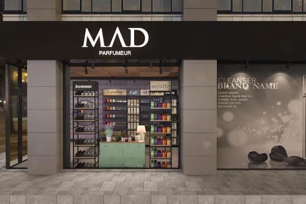 elektrik mağazası tasarımları 3682 MAD Parfumeur