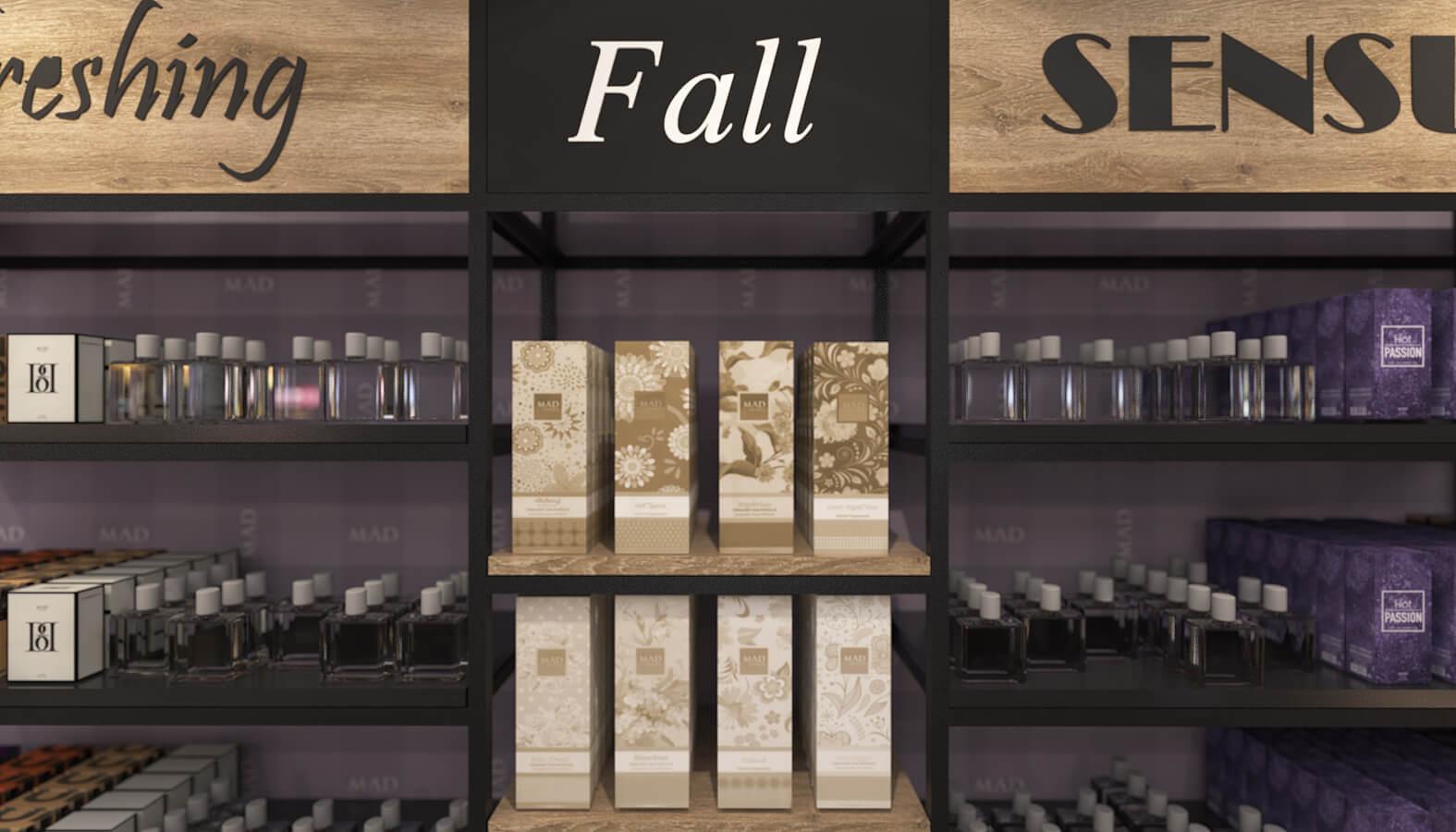 dükkan tasarımı 3684 MAD Parfumeur Perakende