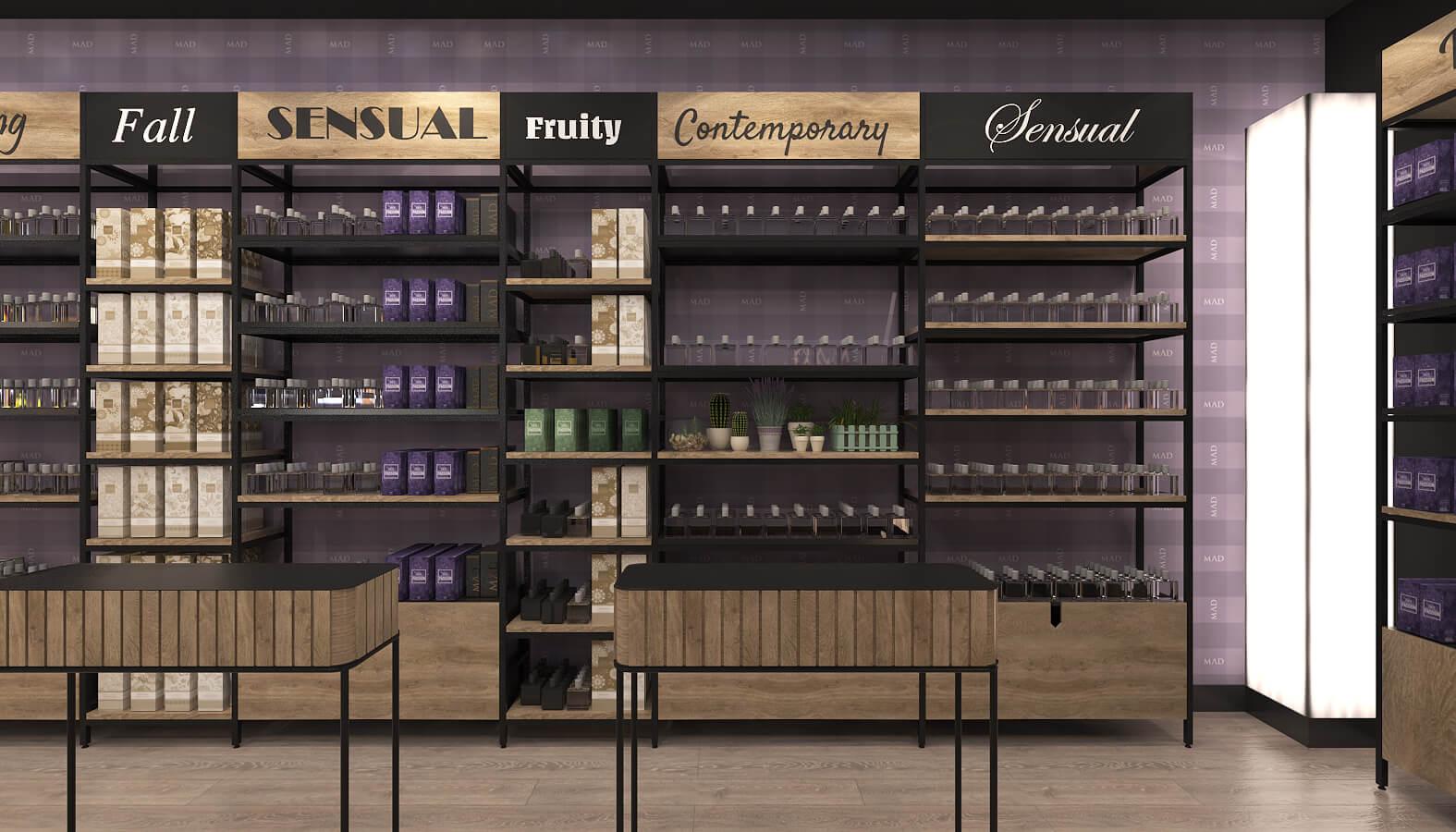 perakende mağaza 3685 MAD Parfumeur Perakende