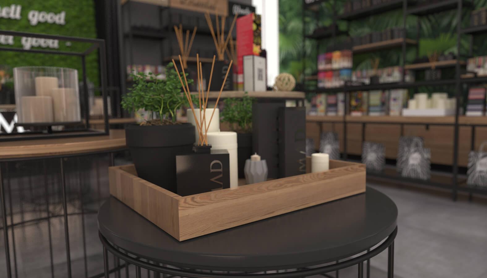 dükkan tasarımı 3690 MAD Parfumeur Perakende