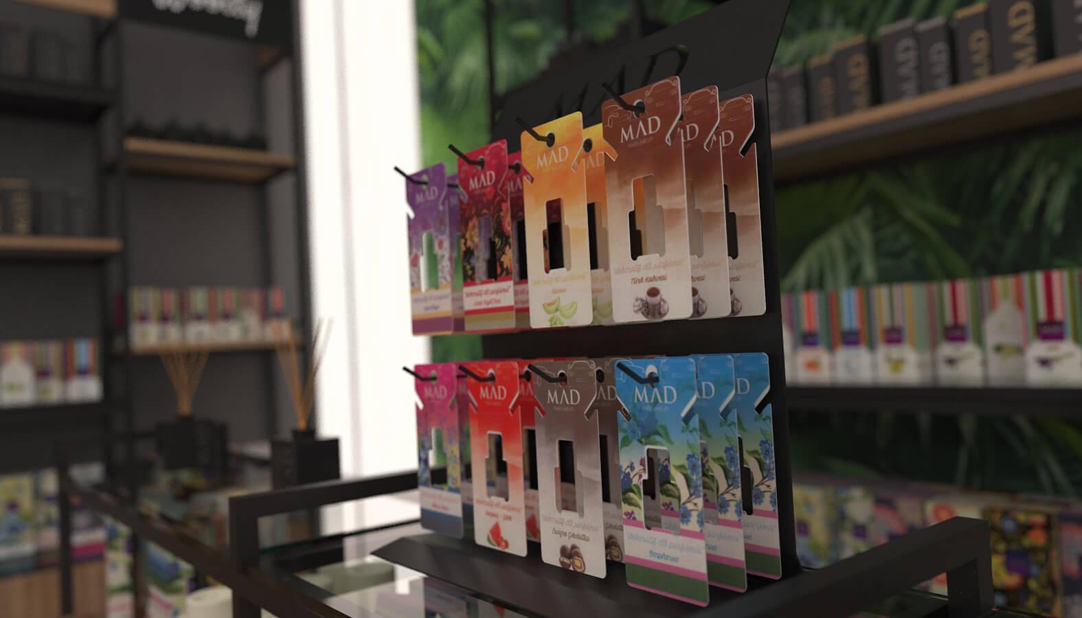 elektrik mağazası tasarımları 3692 MAD Parfumeur Perakende