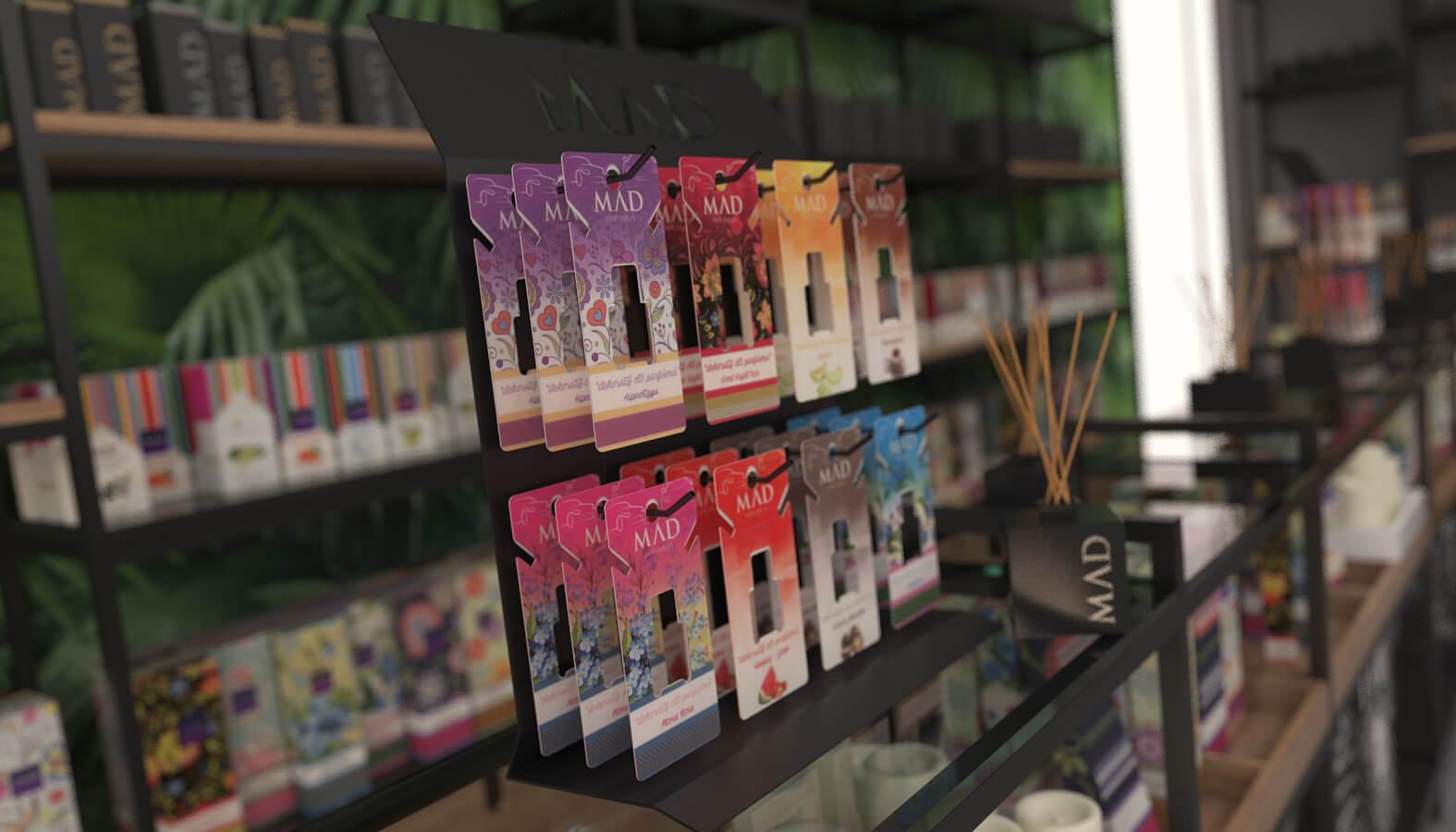 perakende mağaza 3695 MAD Parfumeur Perakende