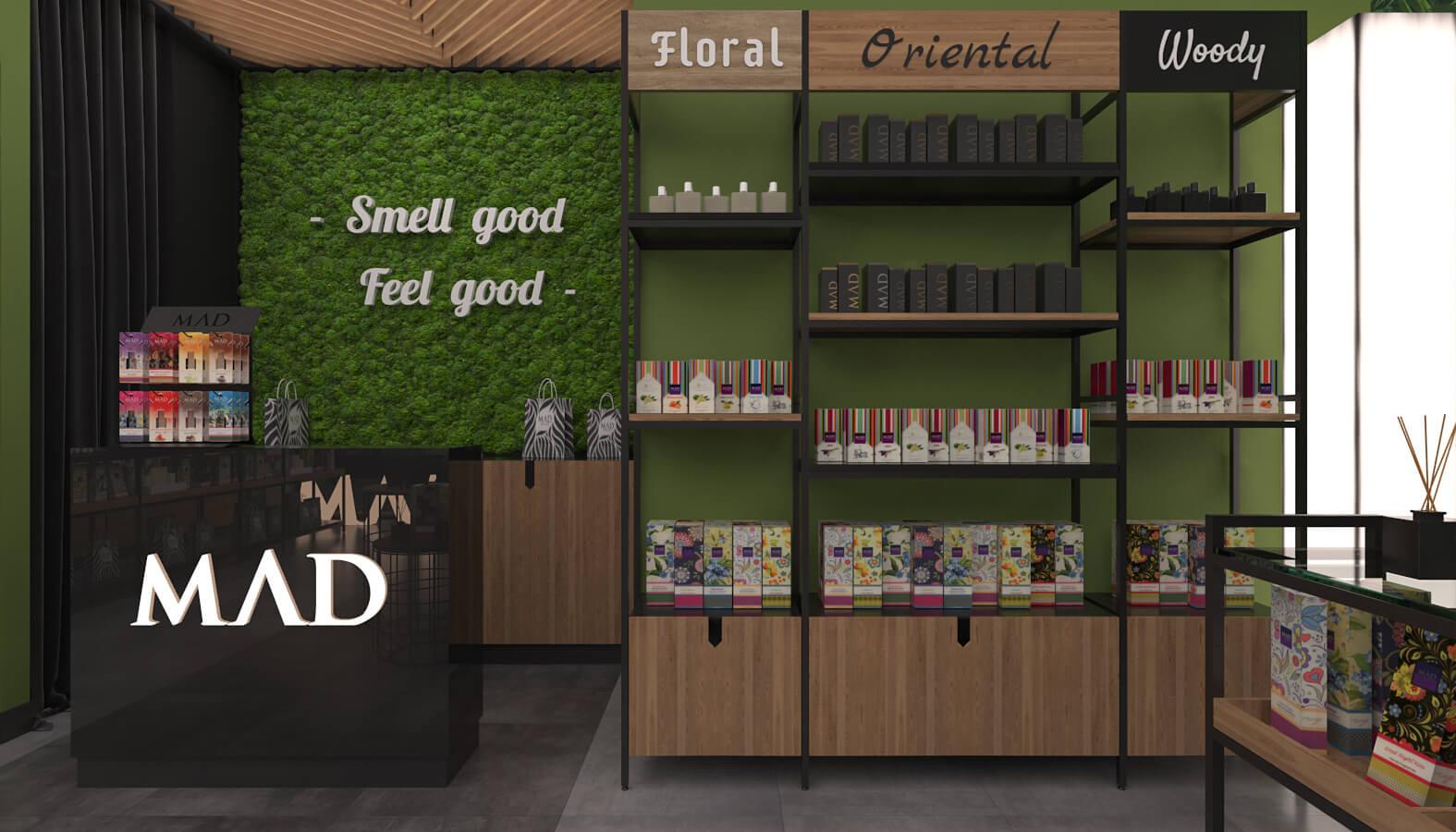 Ankamall 3703 MAD Parfumeur Perakende