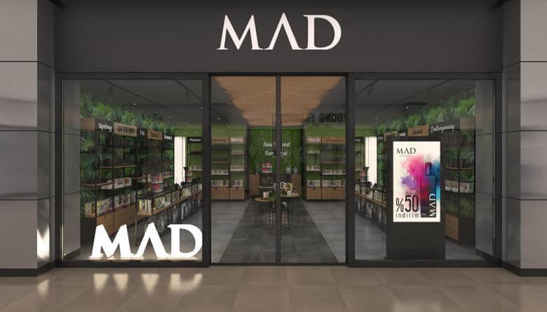 perakende mağaza 3704 MAD Parfumeur Perakende