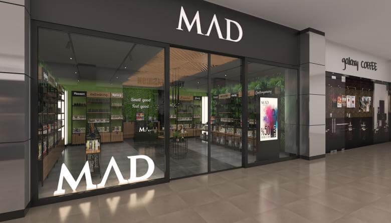 perakende mağaza 3705 MAD Parfumeur Perakende