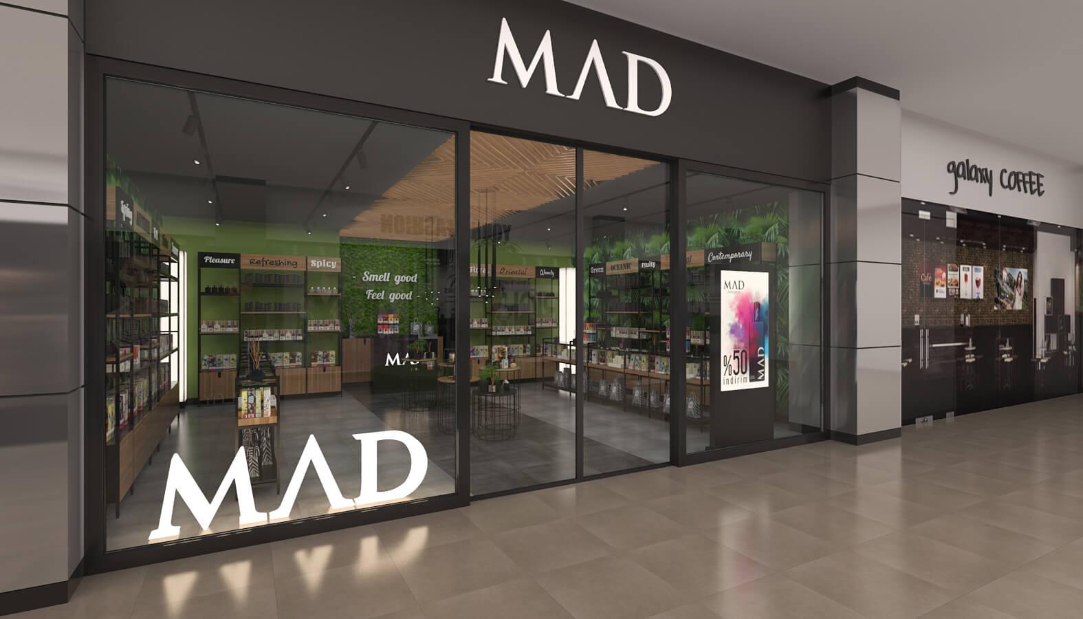 dükkan tasarımı 3705 MAD Parfumeur Perakende