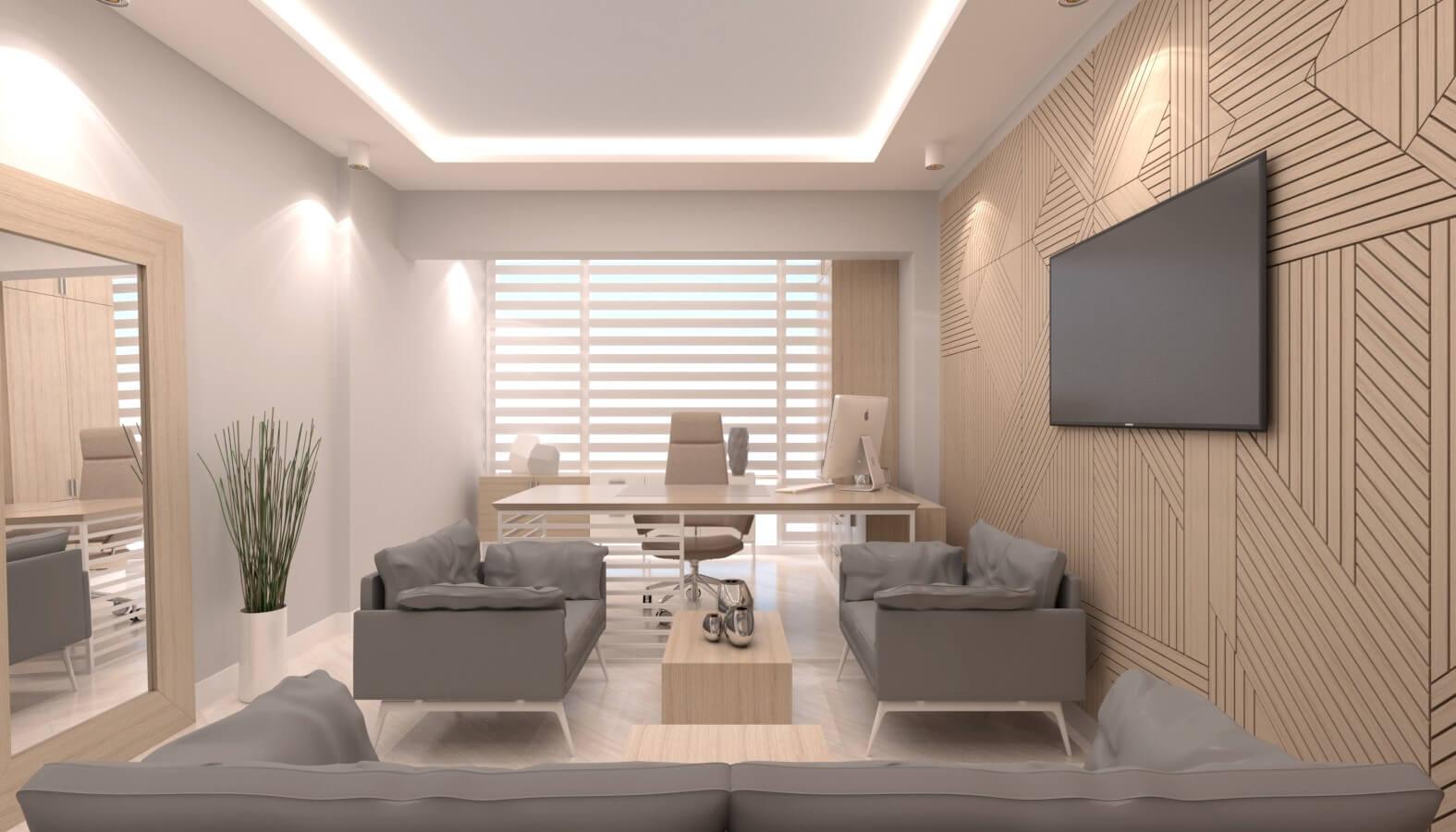ofis içmimari 3714 Crystal Dental Lab Ofisler