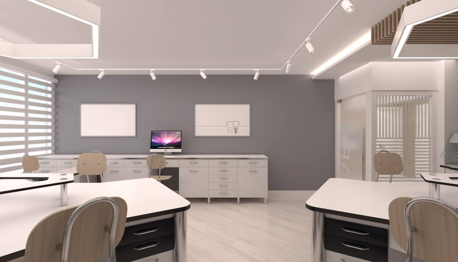 ofis içmimari 3720 Crystal Dental Lab Ofisler