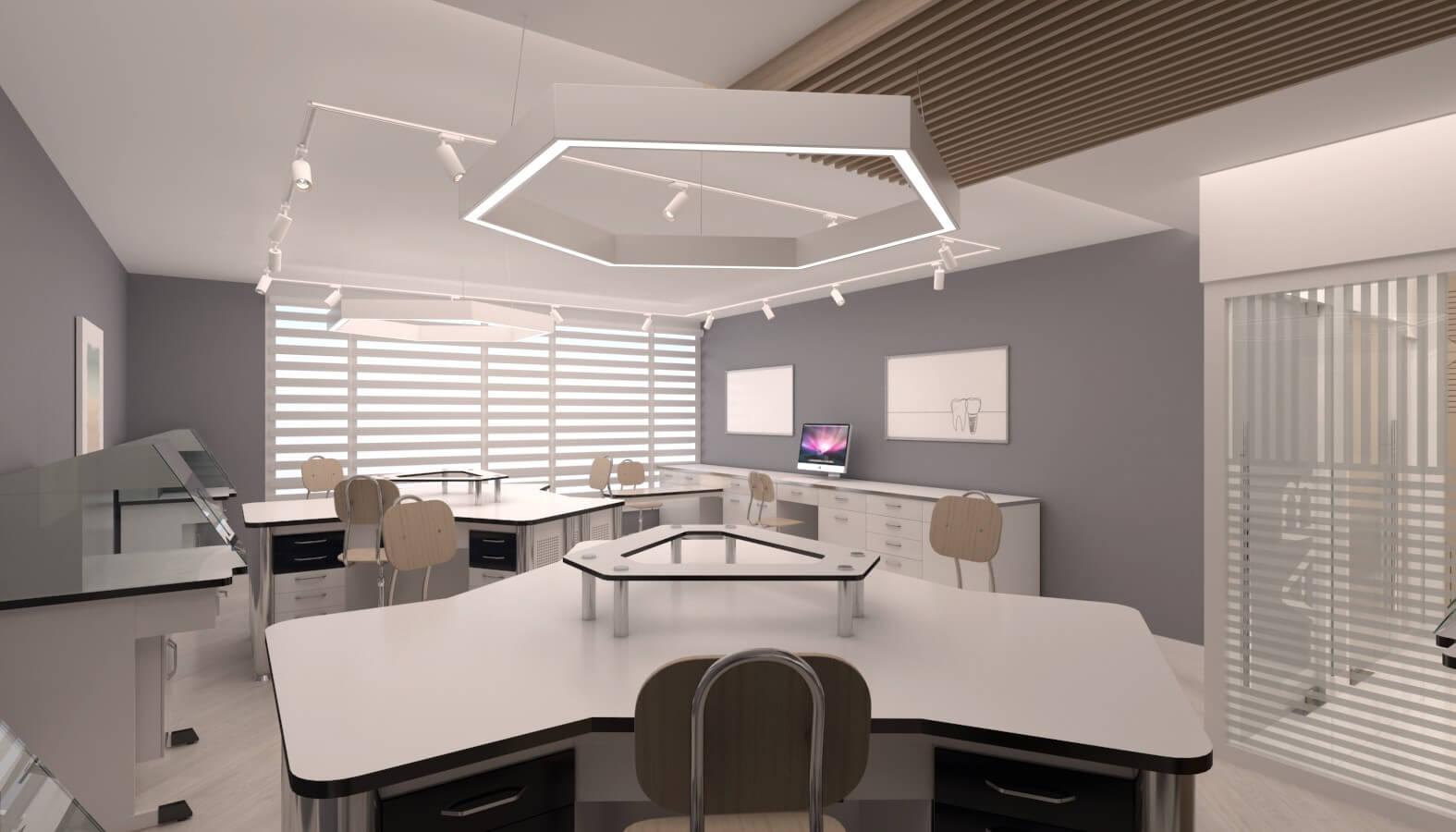 Ankara ofis tasarım 3721 Crystal Dental Lab Ofisler