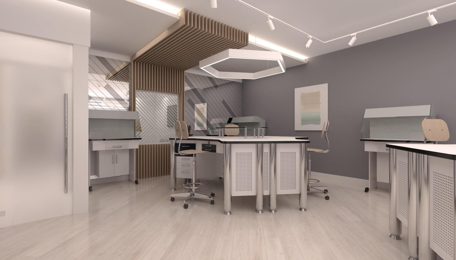 ofis içmimari 3723 Crystal Dental Lab Ofisler