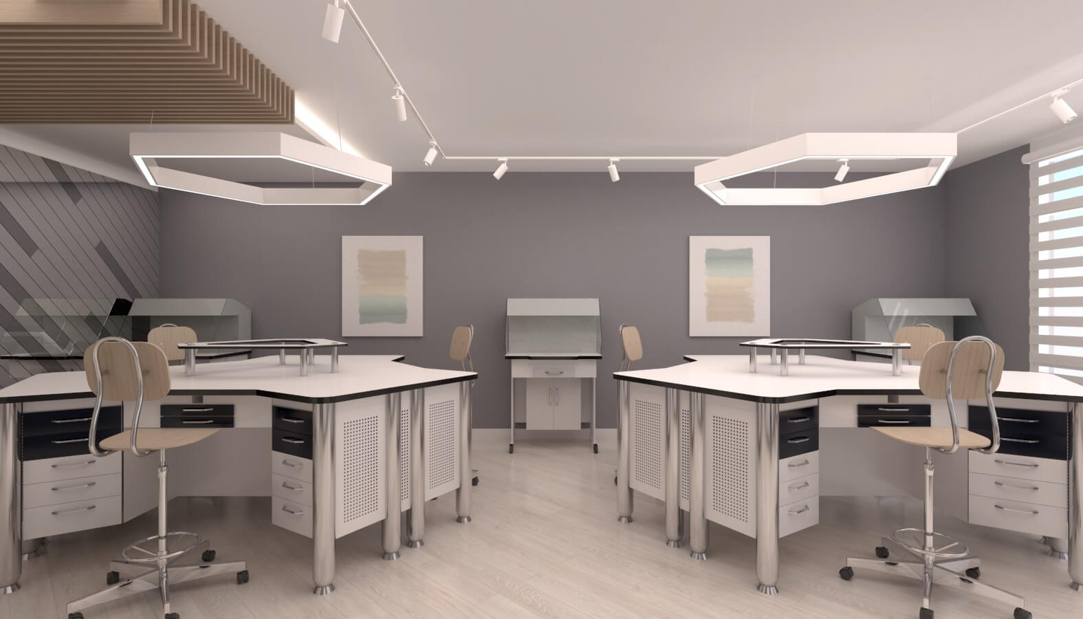 ofis mimari 3724 Crystal Dental Lab Ofisler