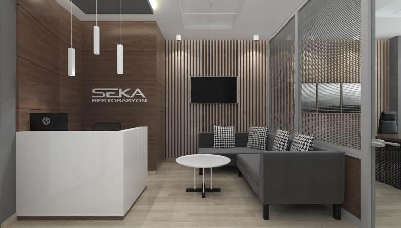 ofis mimari 3764 Seka Restorasyon Ofisler